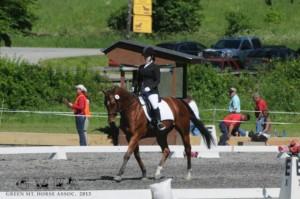 Cassie Riding Horse
